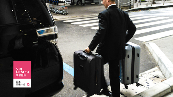 日本高级体检贴心的车接车送服务