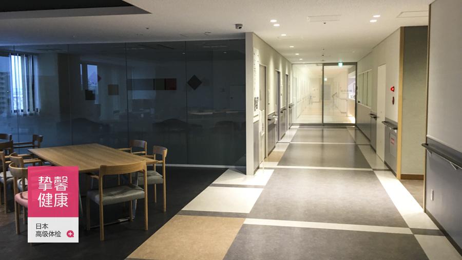 日本高级体检常规检查科室走廊