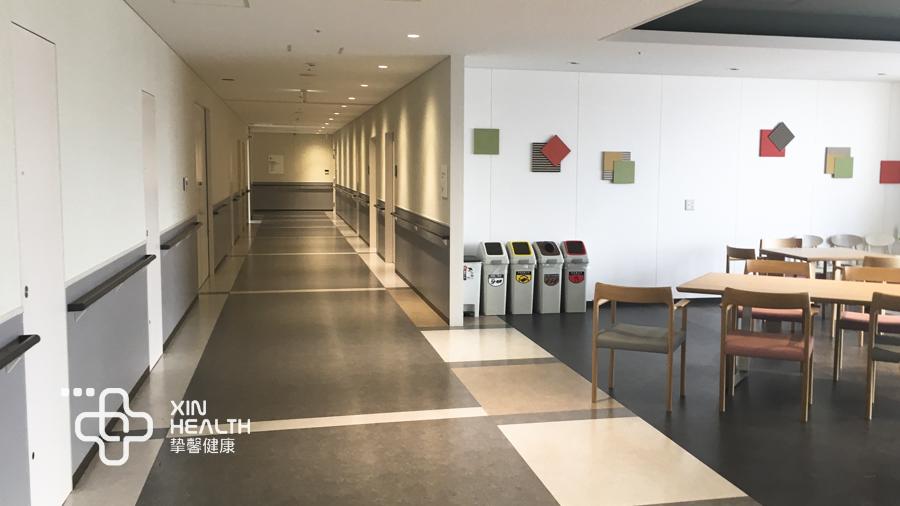 安静舒适的日本医院体检部走廊