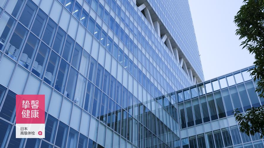 日本大阪高级体检大楼外部景色