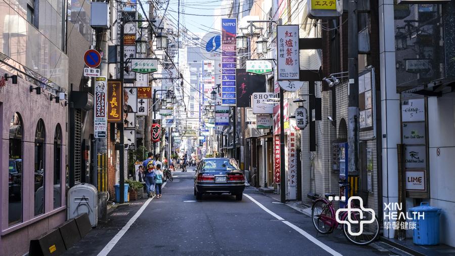 日本大阪街道风光