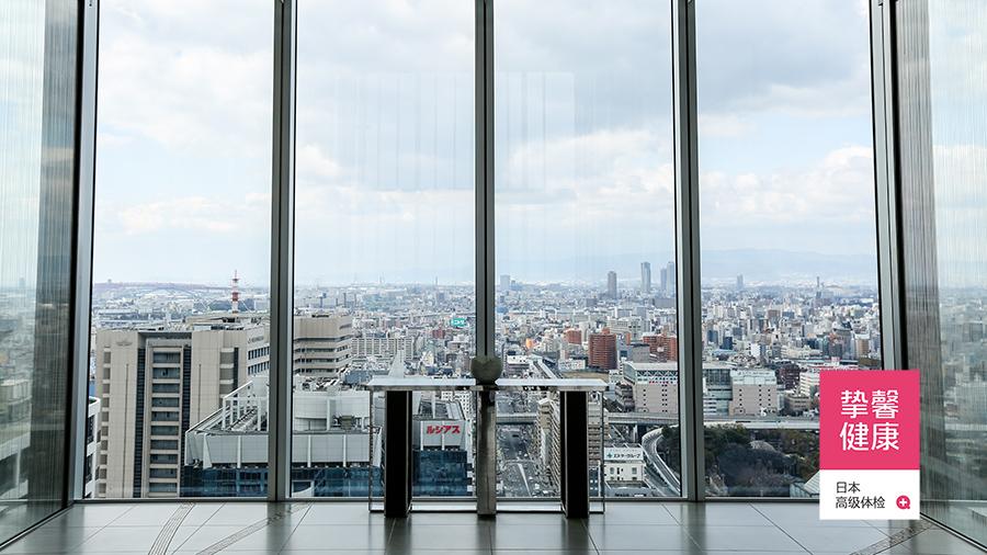 日本高级体检部大楼俯瞰景色