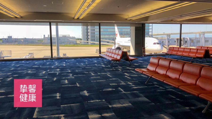 大阪关西机场 候机等待室
