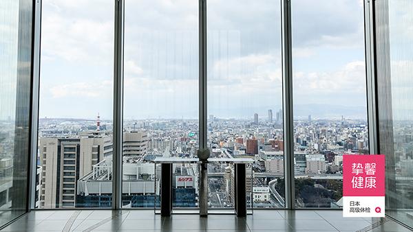 日本高级体检医院大楼俯瞰景色
