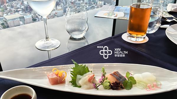 日本体检全面高级2日套餐所包含的顶楼餐食服务