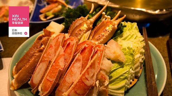 日本体检旅游大阪蟹道乐海蟹