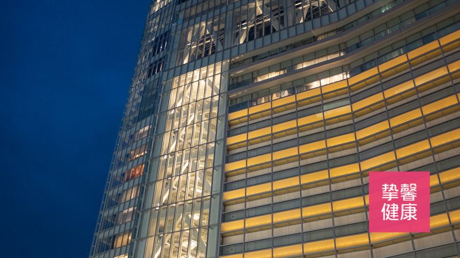 日本高级体检医院所在大楼  环境极佳