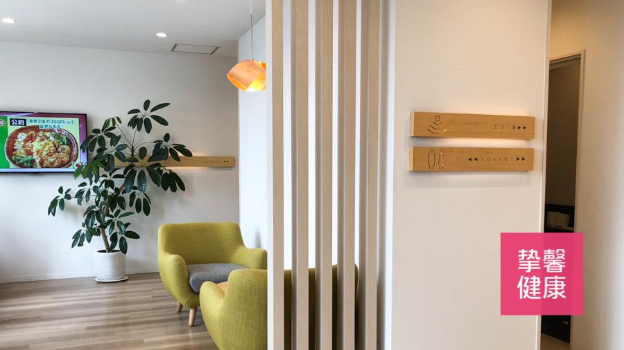 日本高级体检医院内宽敞舒适的环境