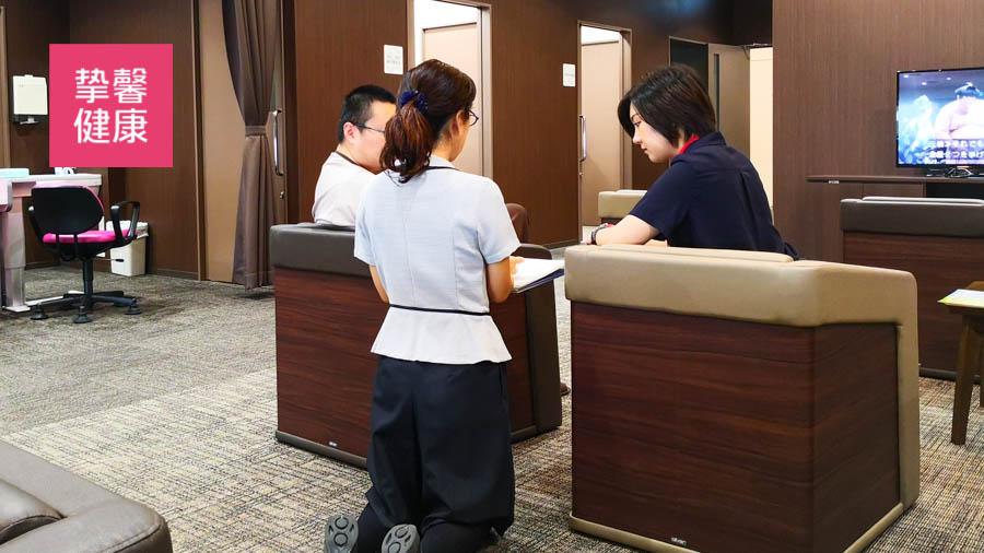 日本高级体检首日护士讲解注意事项
