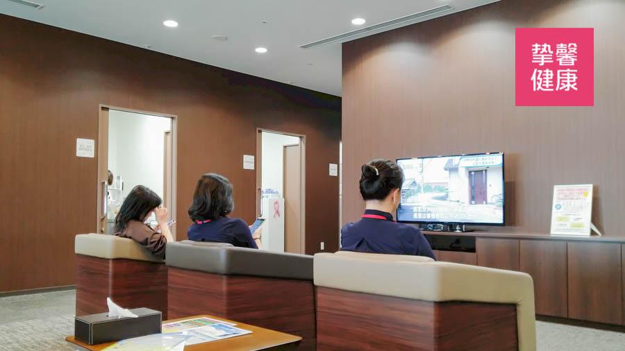 日本体检医院科室内部环境舒适