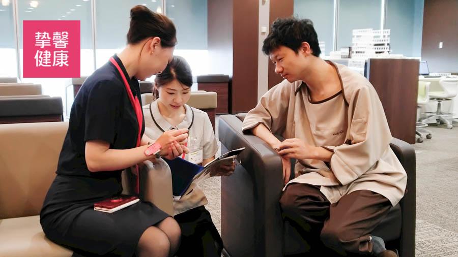 日本高级体检服务细致体贴