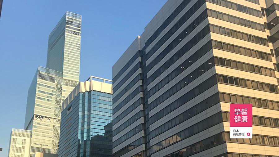 大阪市立大学医学部附属病院总部大楼