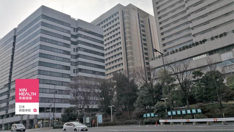 大阪市立大学医学部附属医院总部大楼外景
