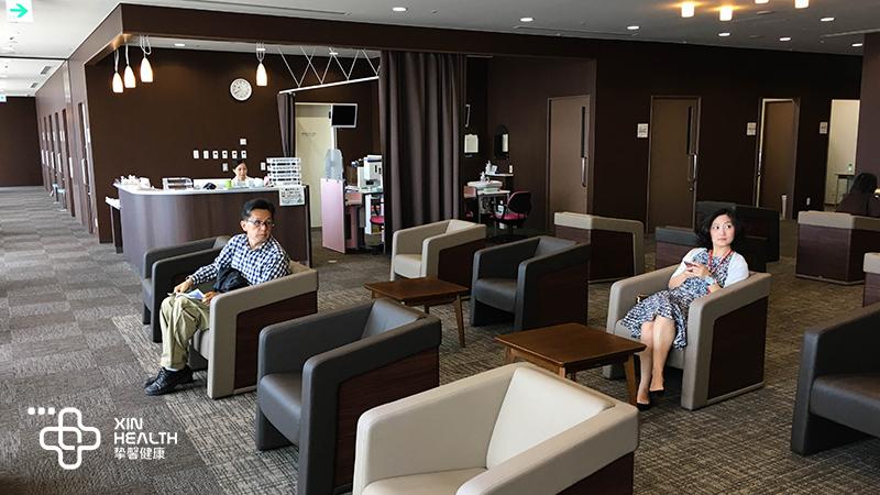 日本高级体检 用户休息等候区