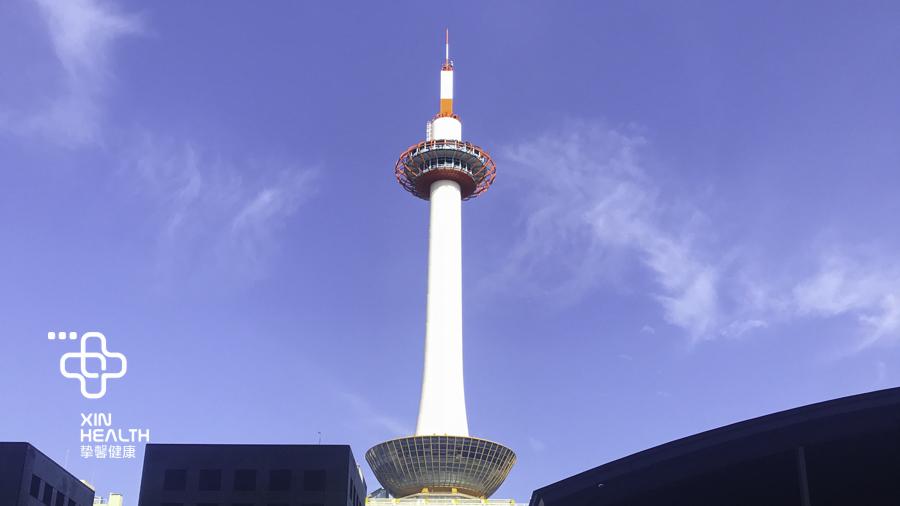 日本沿途湛蓝的天空