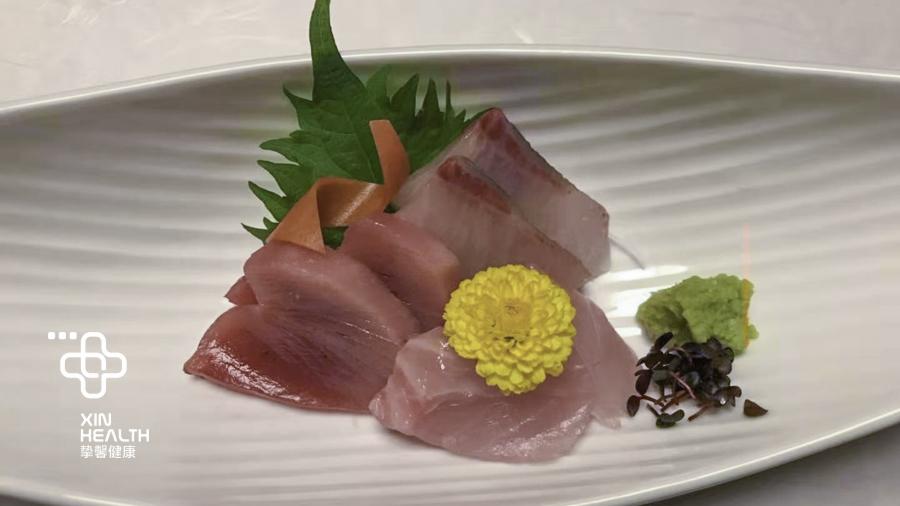 日本人喜爱的生鱼片