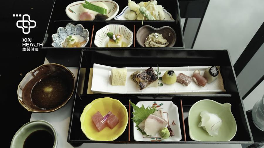 挚馨健康 XIN HEALTH 日本体检 全面高级2日套餐 餐食