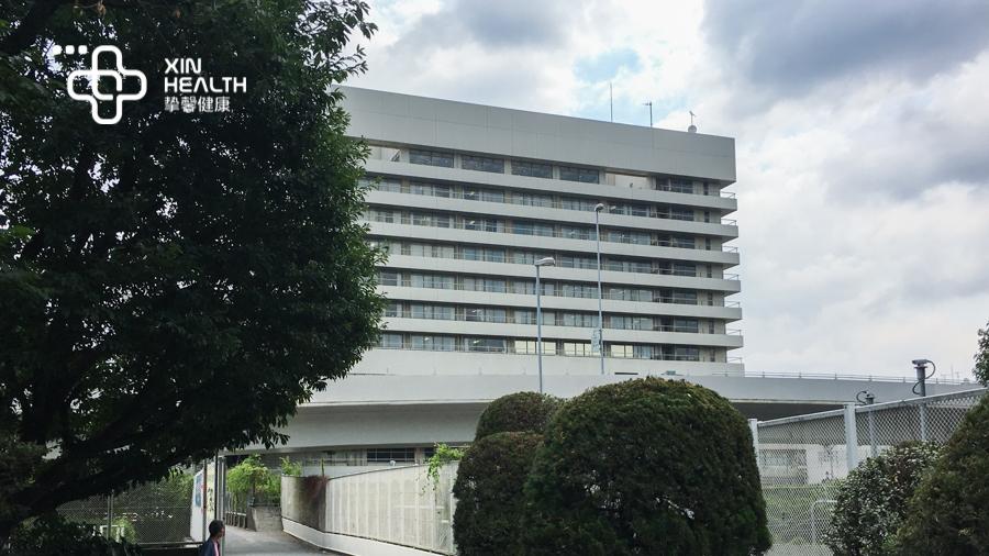 庆应义塾大学医院外部风景