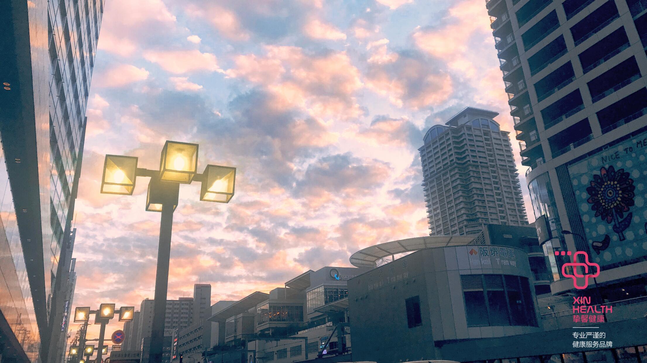 独特优美的日本大阪街景