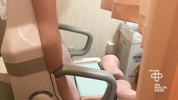 日本高级体检女性检查专用座椅