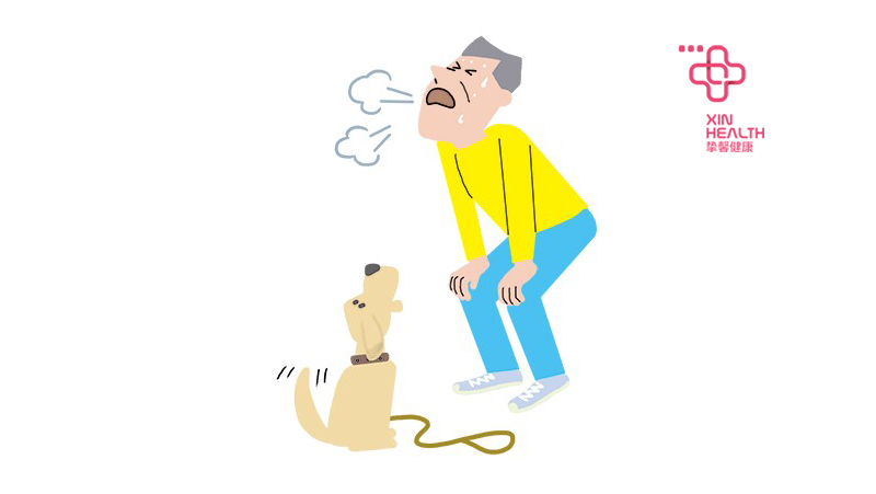 呼吸急促是肺癌表现症状之一