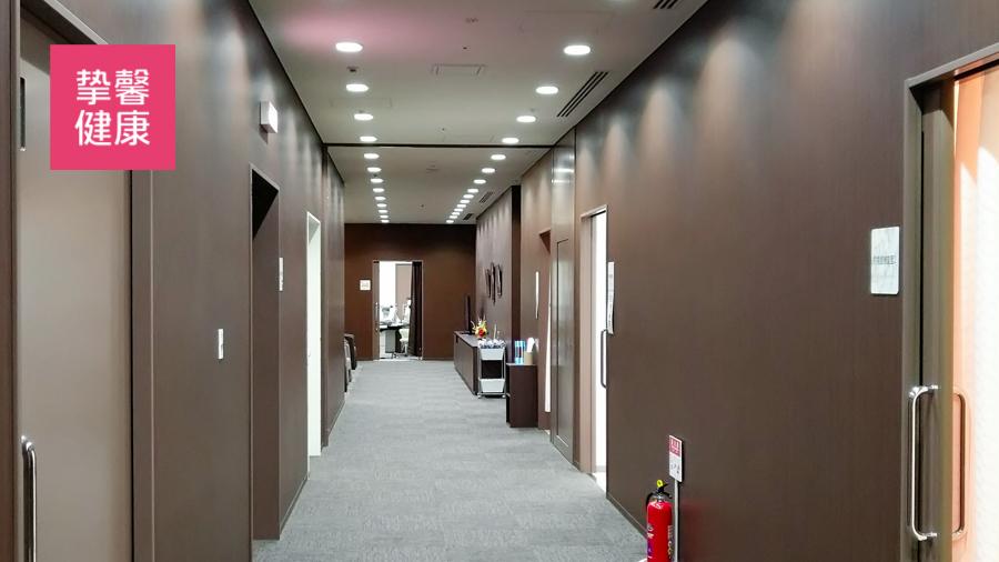 日本医院干净整洁的内部环境