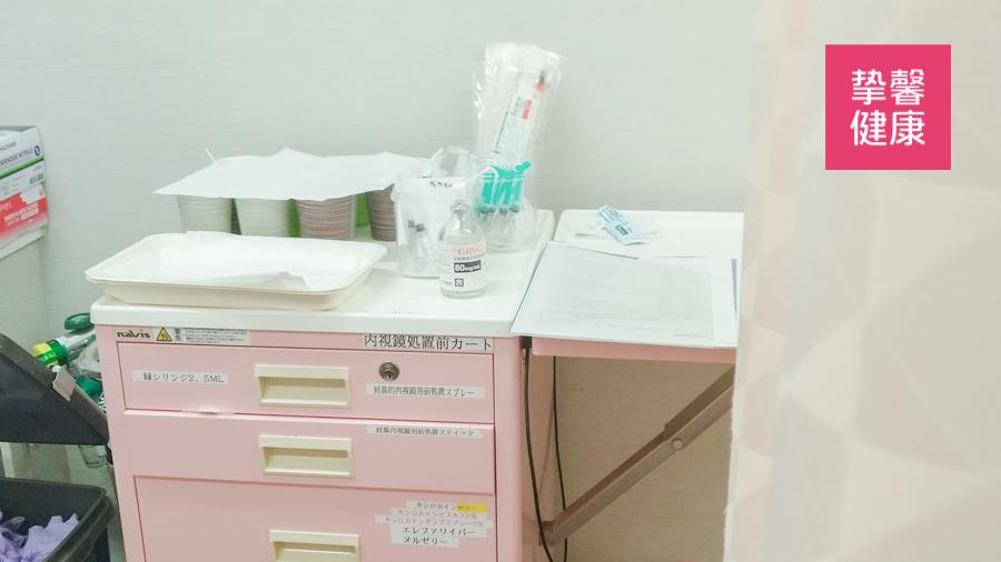 日本体检高级套餐胃镜前期准备所需药物