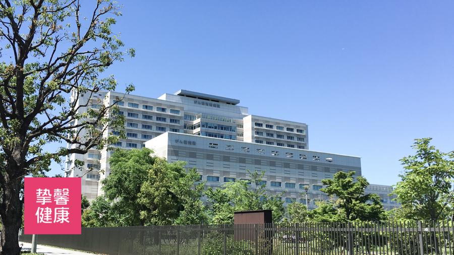 日本癌研有明医院大楼外部环境