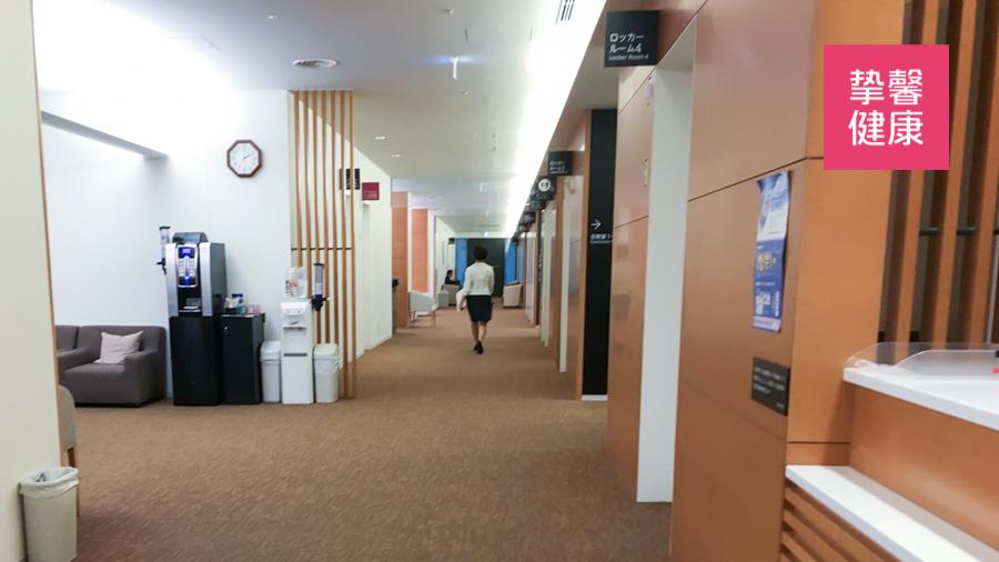 日本高级体检医院 检查科室走廊