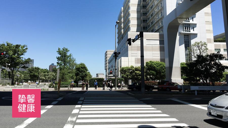 干净舒适的日本街道环境