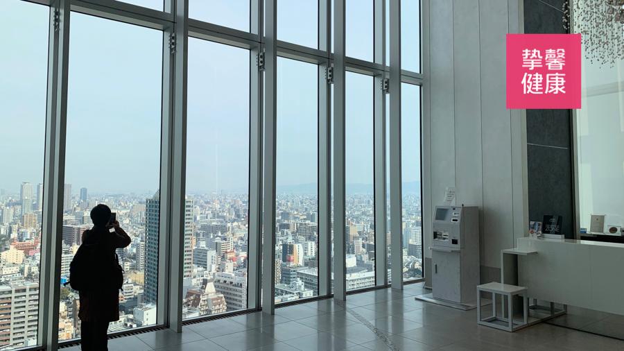 日本高级体检部大楼内部环境