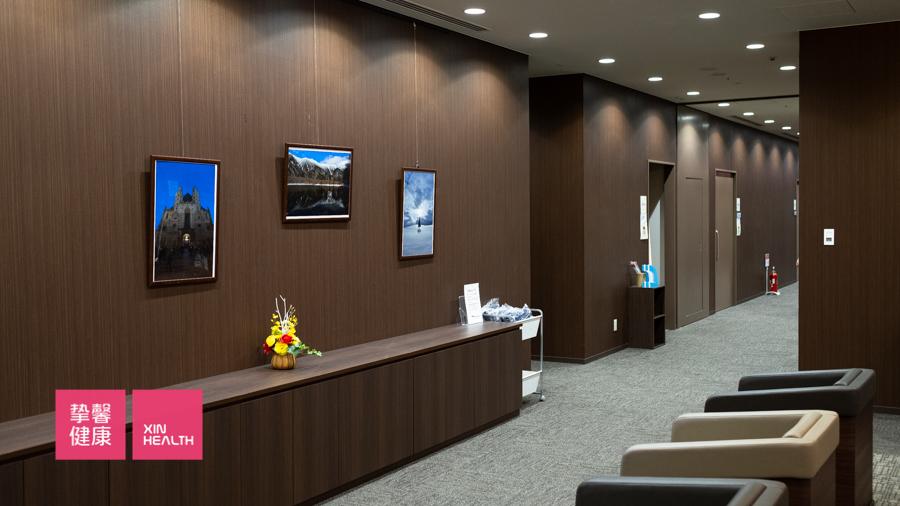 舒适整洁的日本高级体检内部环境