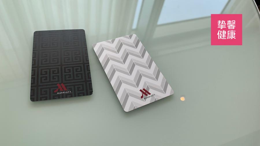 日本高级体检 五星级万豪酒店房卡