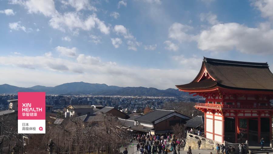 日本京都独特的寺庙风景