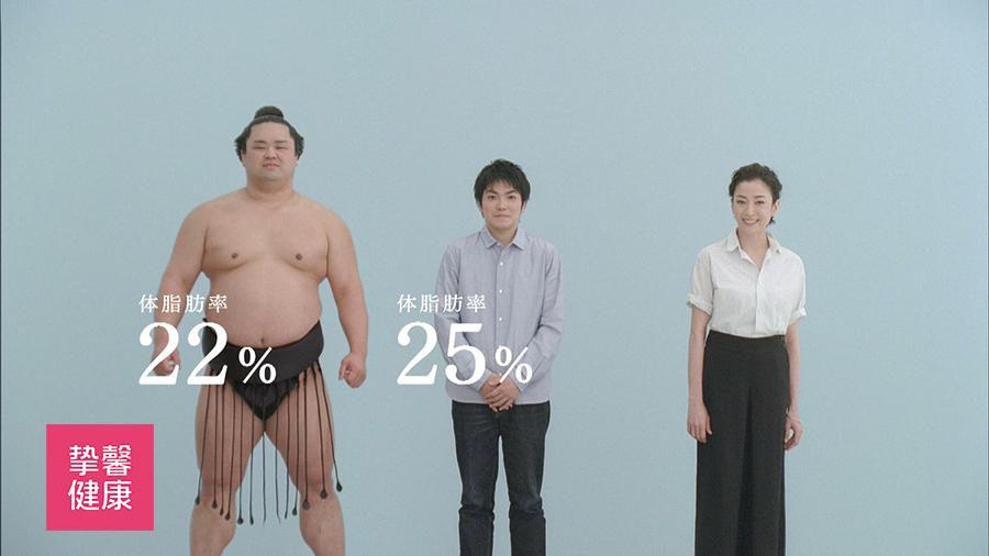 相扑选手的体脂率远低于你的想象