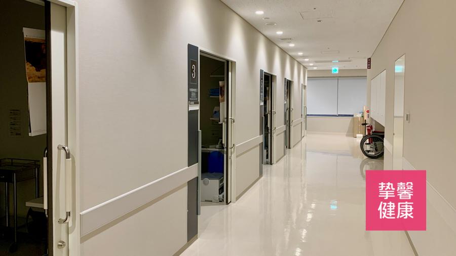日本医院干净舒适的内部环境