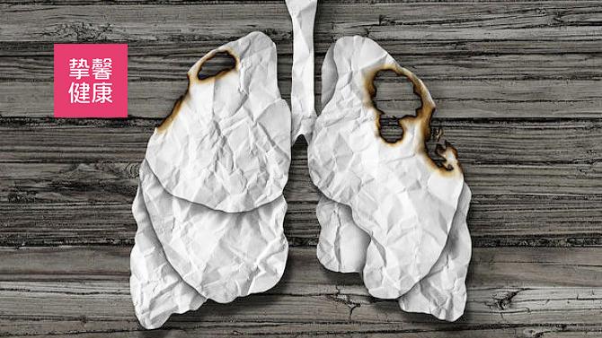 肺部肿瘤扩散示意图