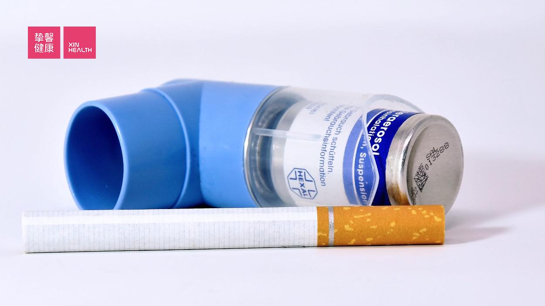 有统计显示90%的COPD患者都有吸烟史
