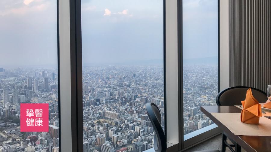 日本体检 顶楼观景餐厅