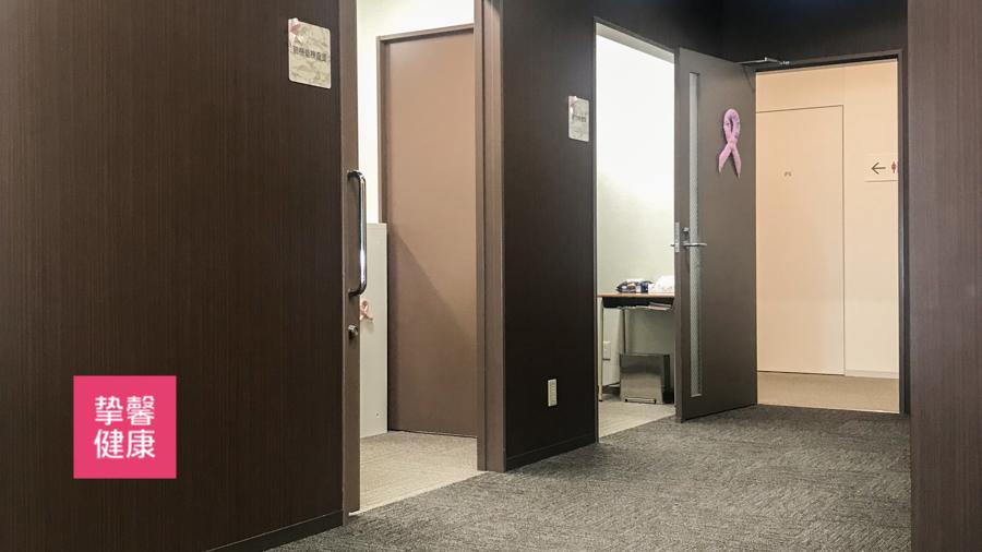 日本高级体检女性体检专用区域