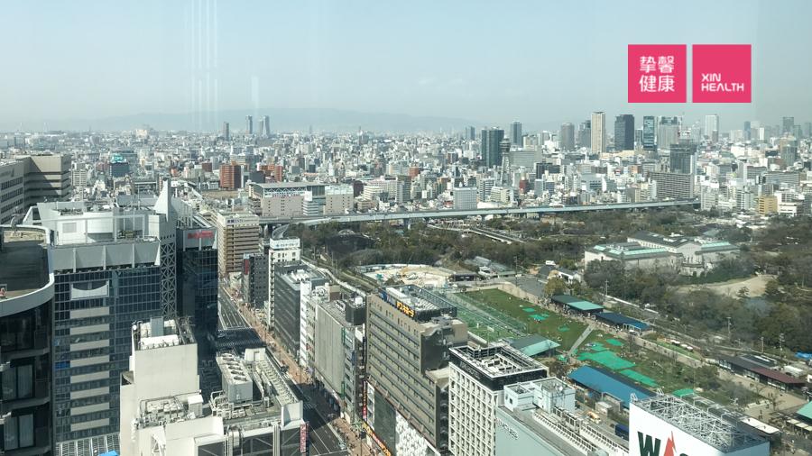 日本体检 体检部大楼俯瞰视角