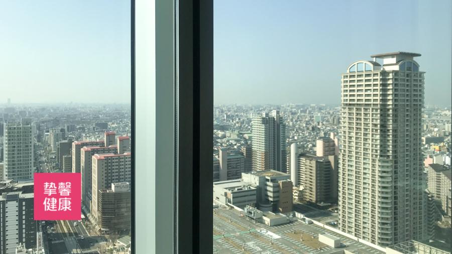 日本体检医院大楼环境