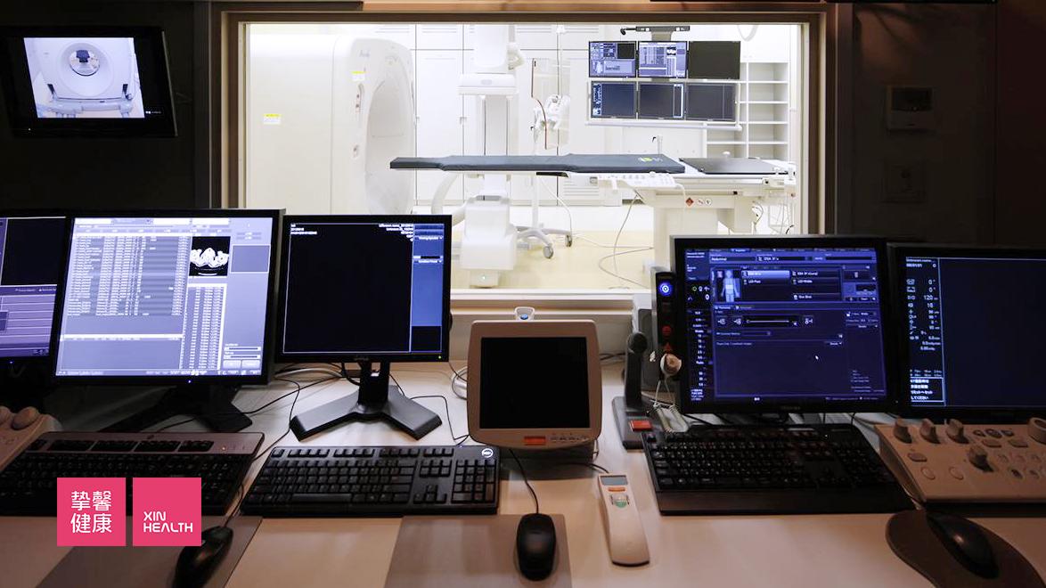 顺天堂医院的CT诊疗室