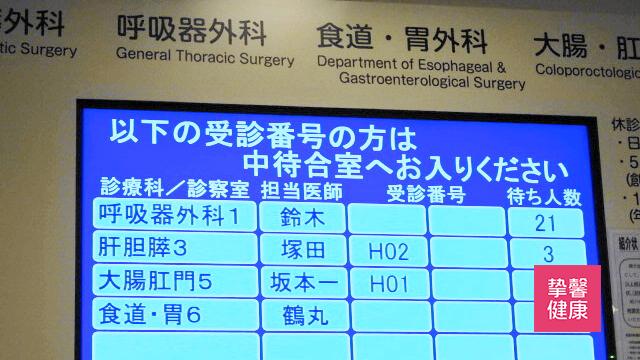 顺天堂医院科室显示屏