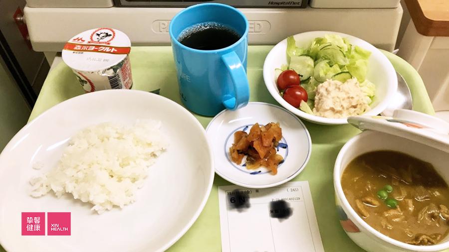 庆应医院的餐食