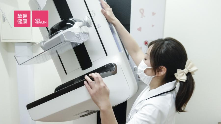 日本高级体检 女性乳腺钼靶检查仪器