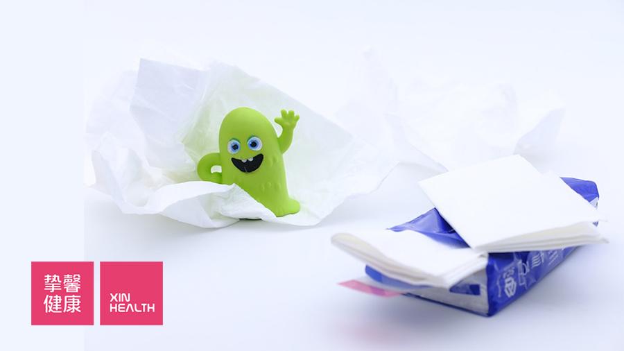 感冒时我们常流鼻涕