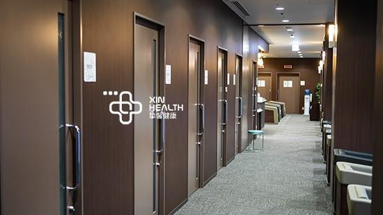 日本高级体检部内部科室走廊