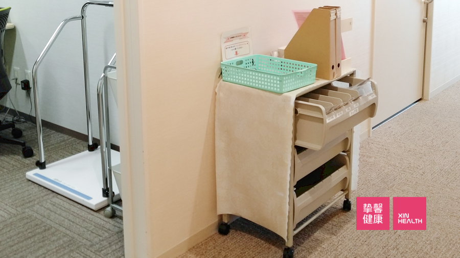 干净整洁体检内部设施环境