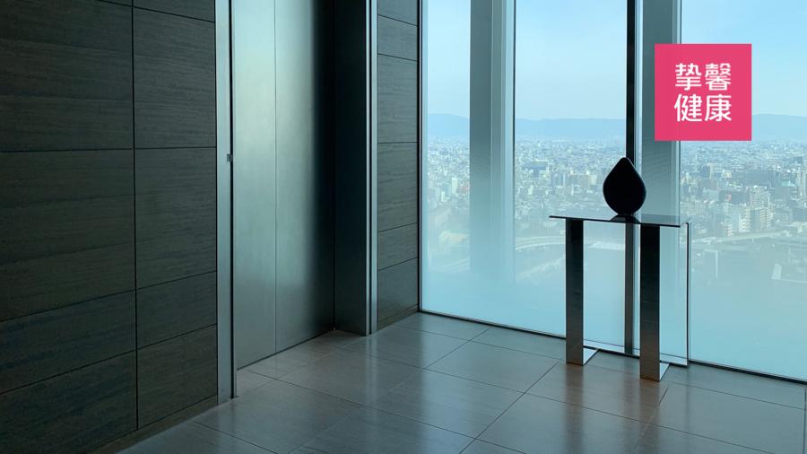 日本高级体检 用户所住万豪五星酒店